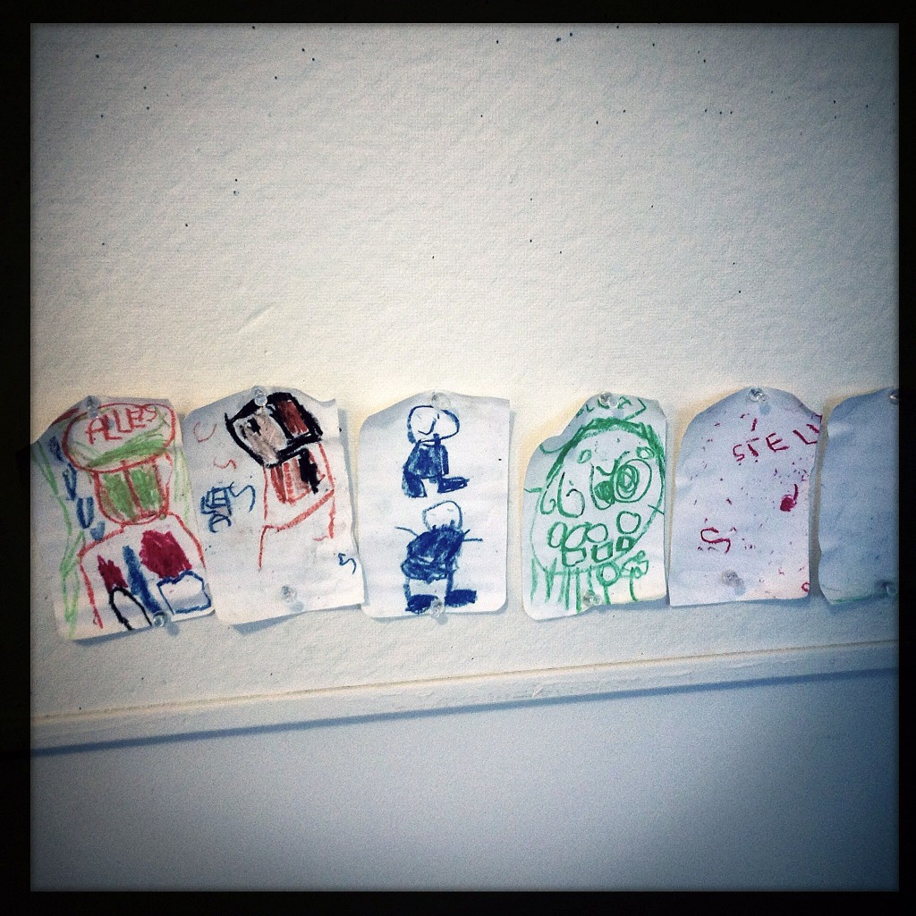 writer's residency for parents - kid art