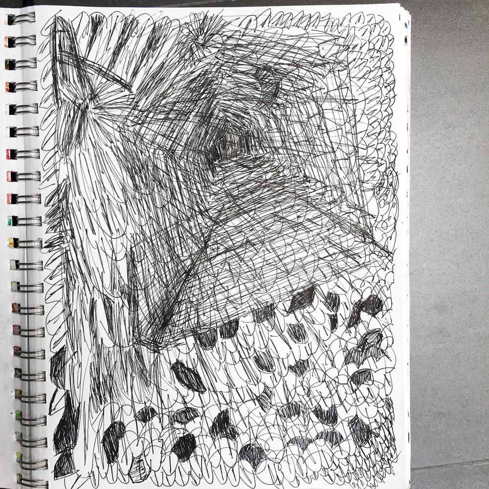 Depression sketches debbie urbanski for Cool drawing sites